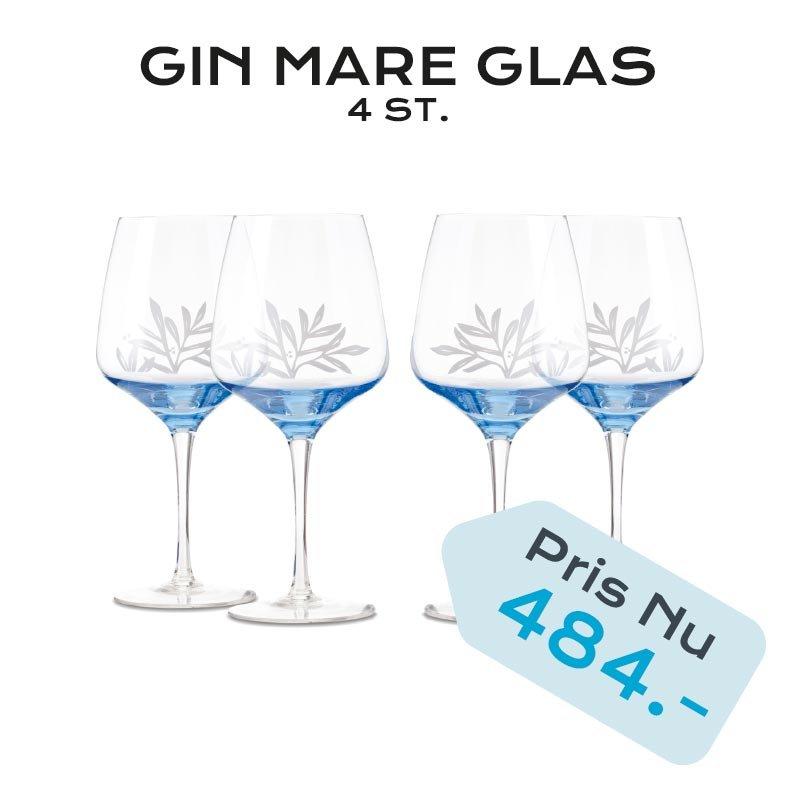GIN MARE GLAS 4 STK.