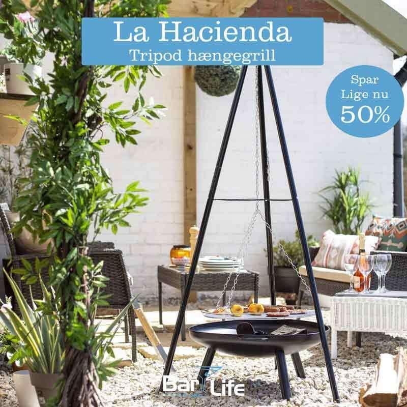 La Hacienda Tripod hængegrill