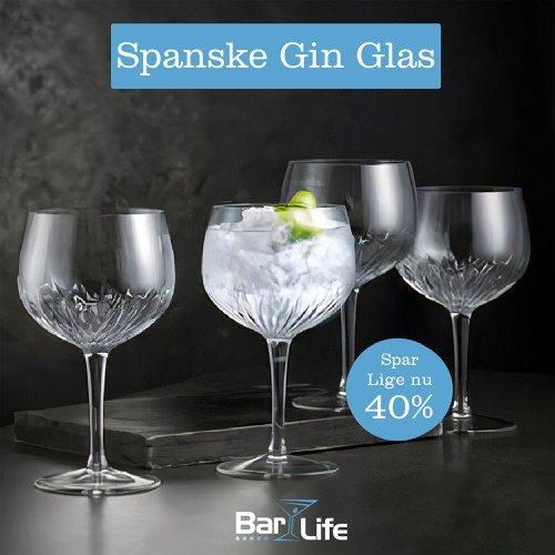 Spansk gin glas