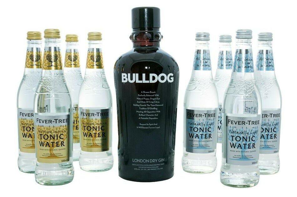 Gin og Tonic: Bulldog Pakke