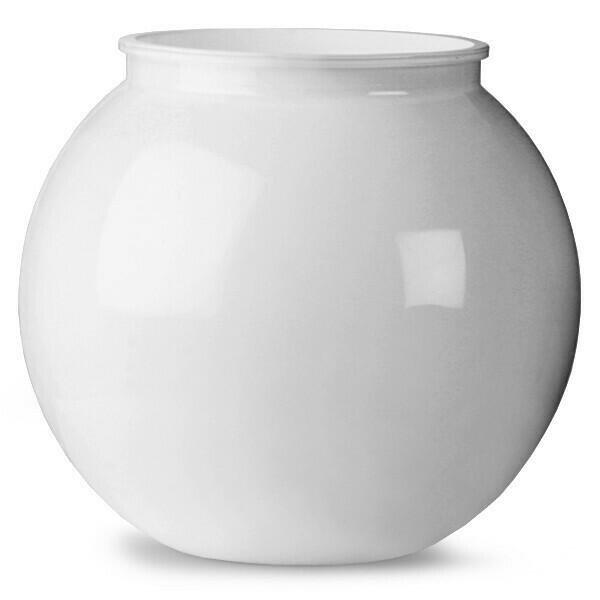 Plastik Cocktail Bowl Hvid 3L