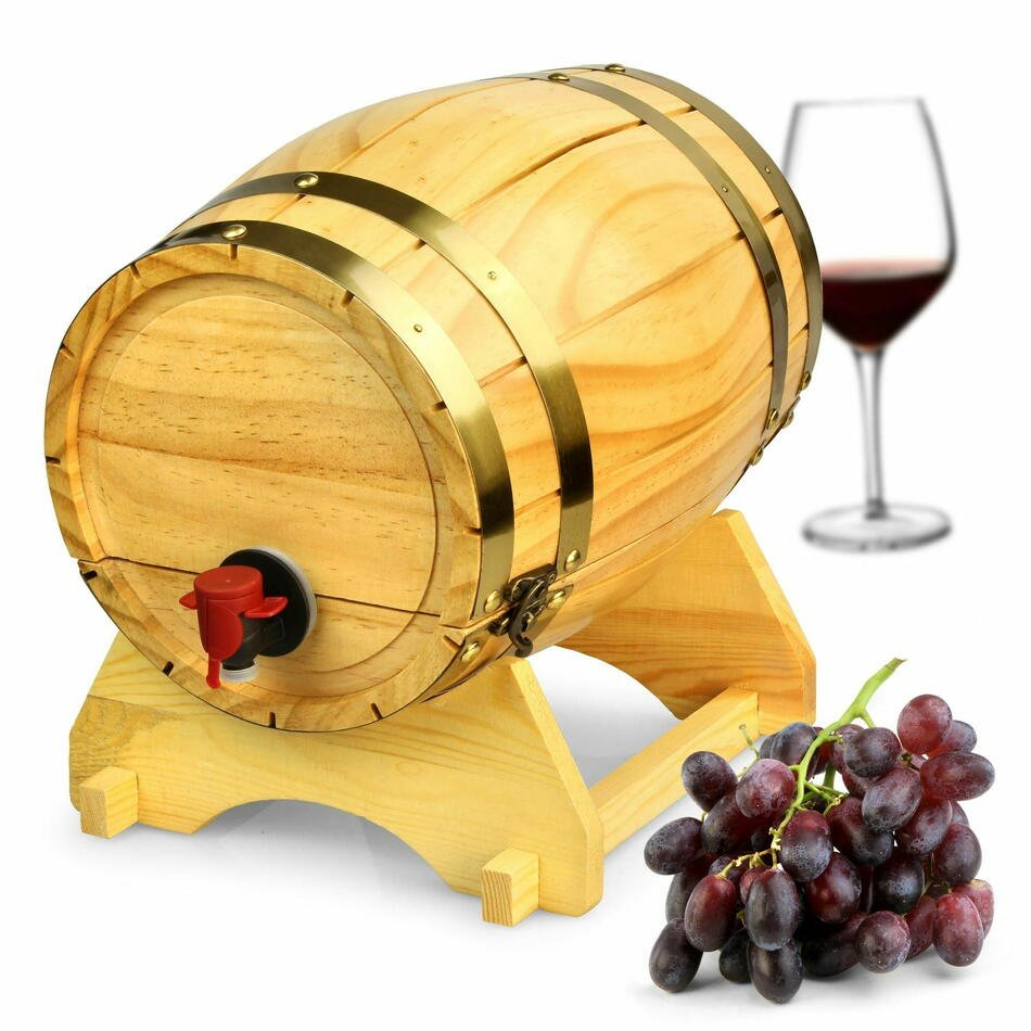 Træ Vin Dispenser 5ltr