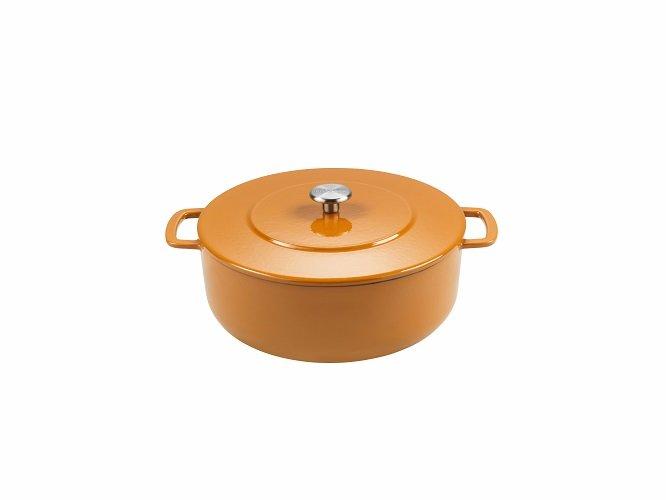 Billede af Combekk Souschef braisergryde 28 CM orange ( 5,8 L ) genbrugsstøbejern
