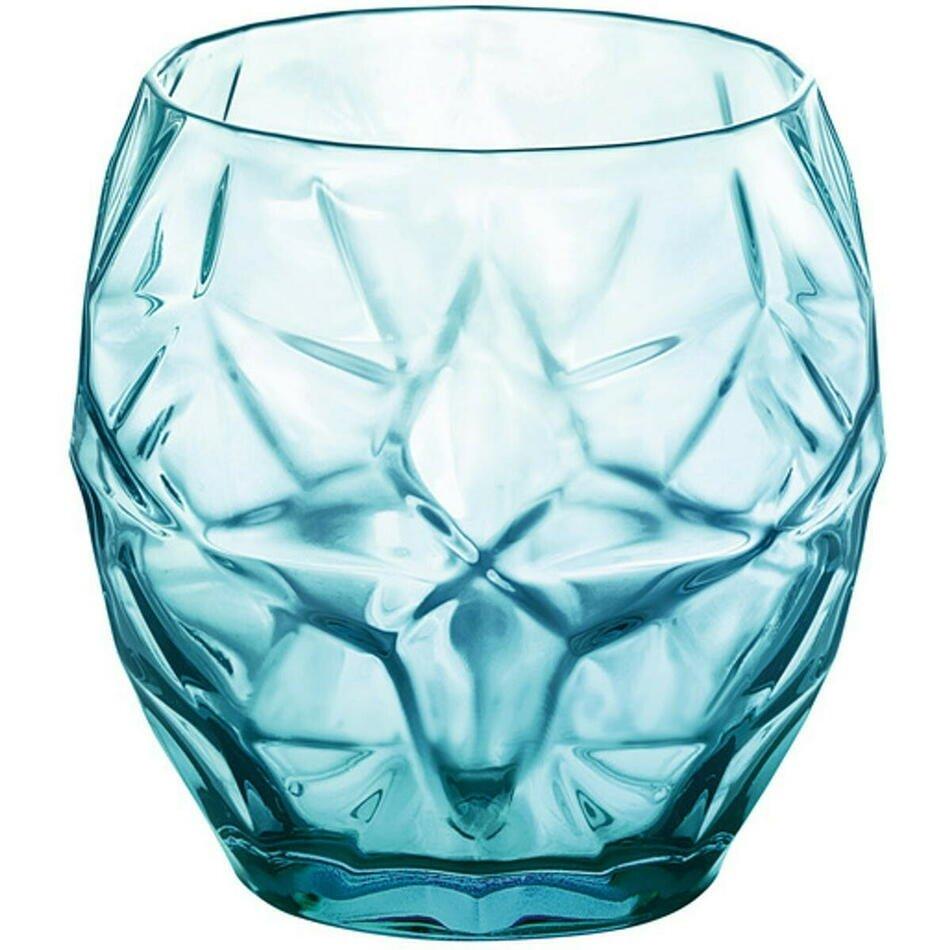 Bormioli Oriente drikkeglas, blå, 40 cl