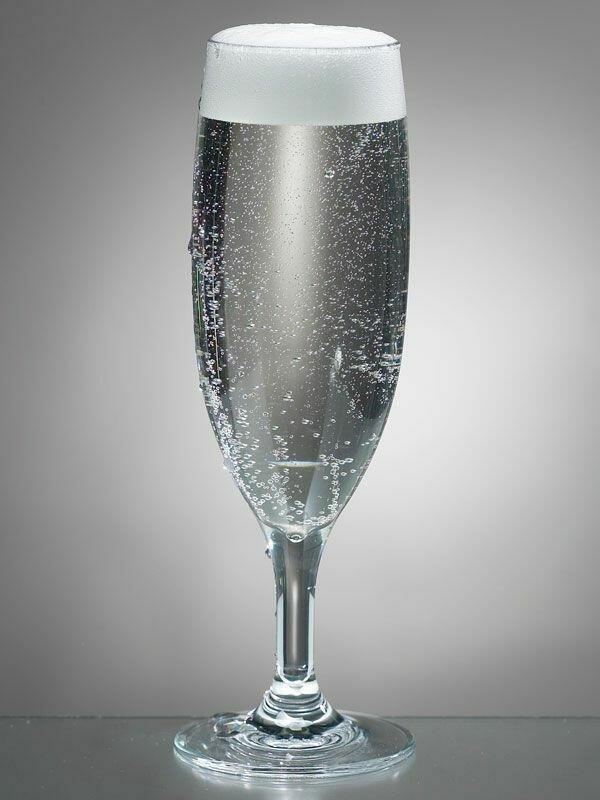 Champagneglas polycarbonat