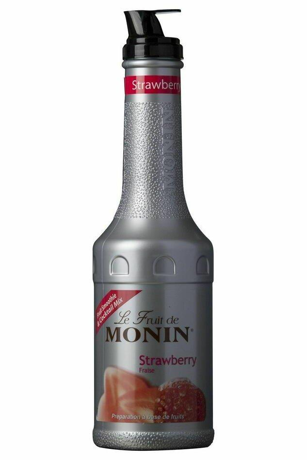 Monin Purémix Jordbær 1 ltr