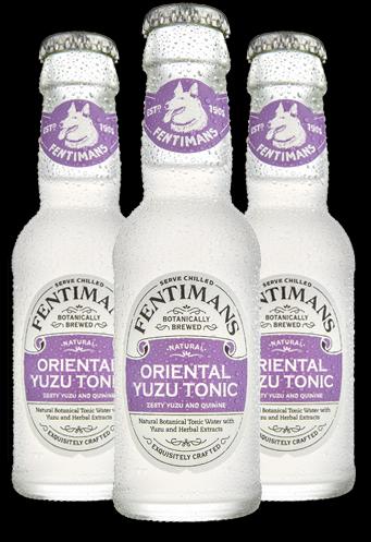 Fentimans Oriental Yuzu Tonic 20cl