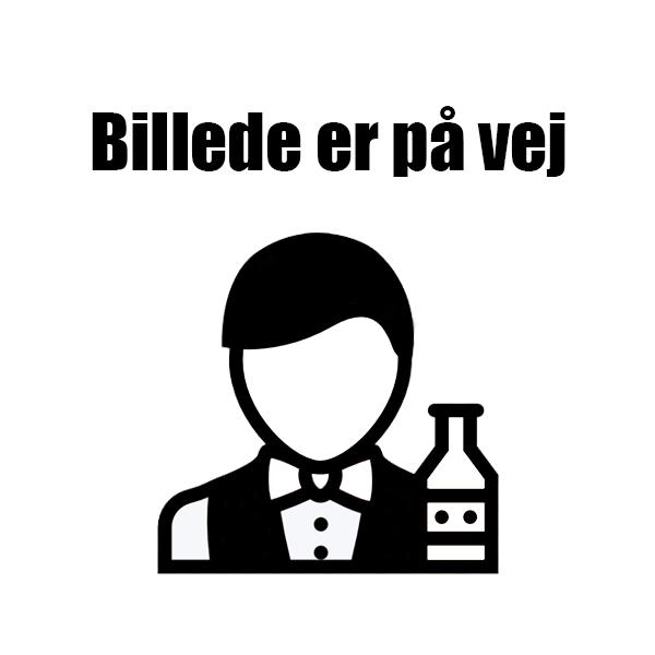 Rustfrit stål Bar bakke med sort PVC 40cm thumbnail
