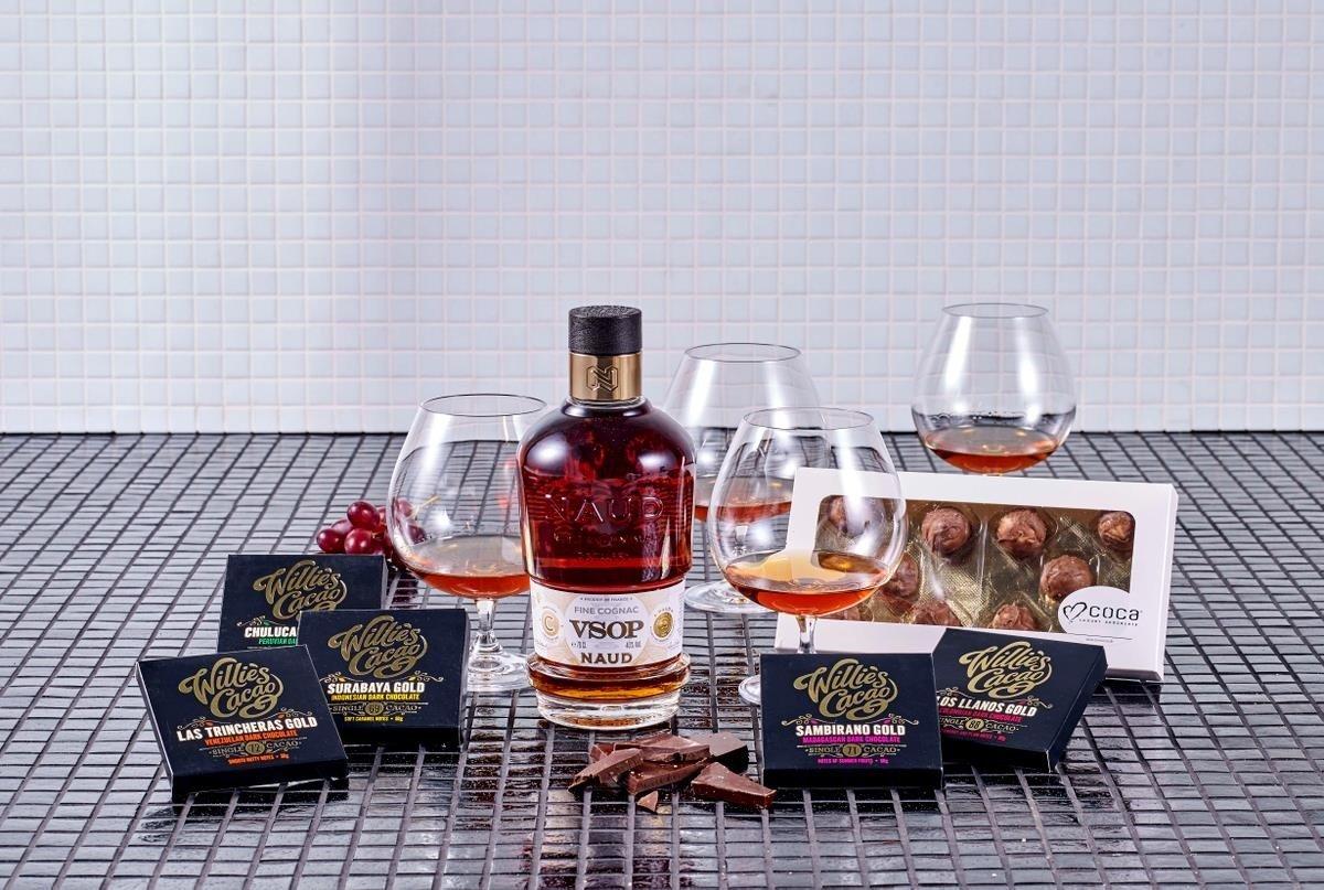 Vsop Cognac & Glas Gaveæske