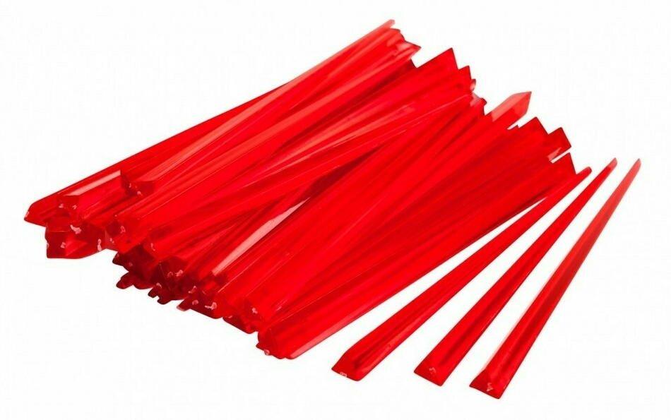 Rød Prism Drinkspind 9 Cm- Box 1000
