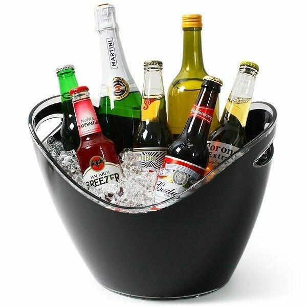 Billede af Vin / Champagne Køler Sort 8 Liter Plast