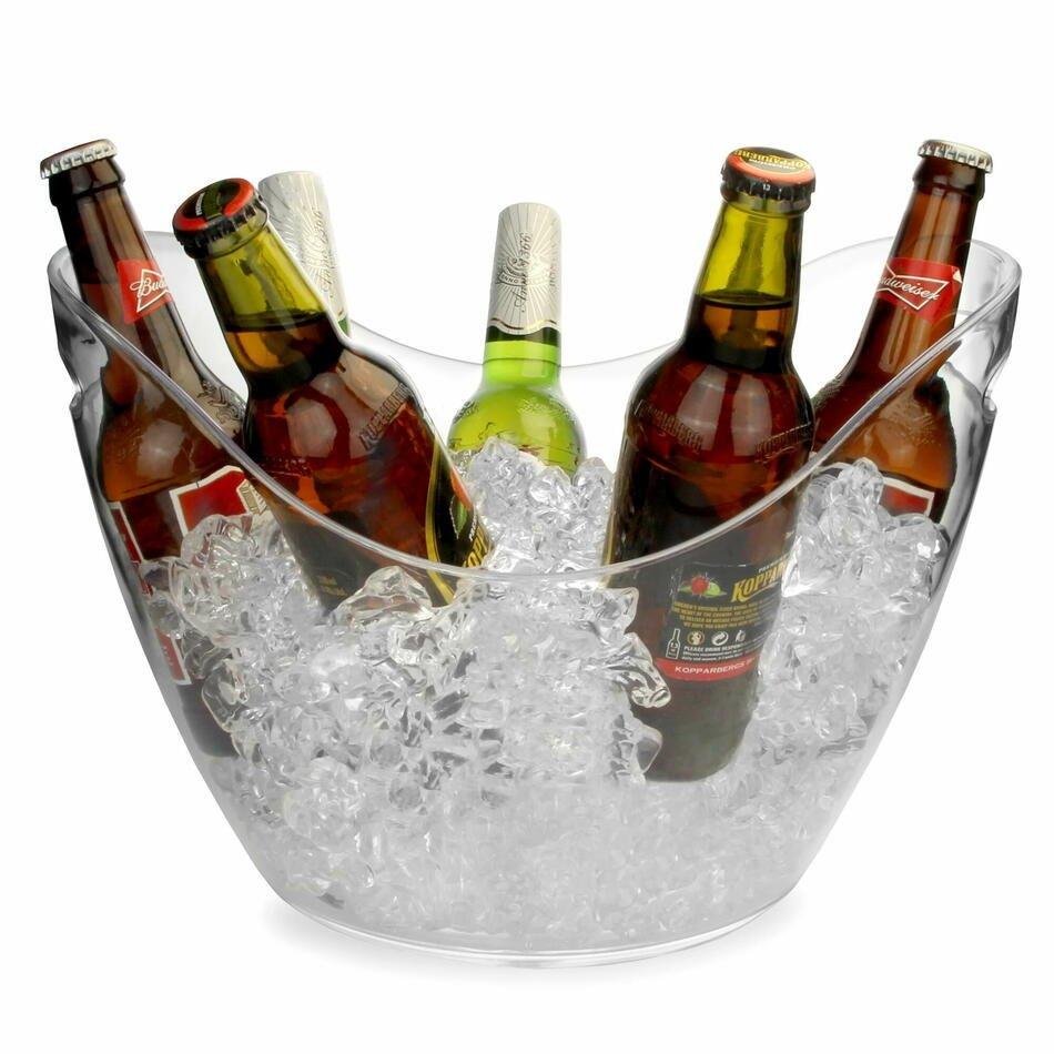 Billede af Plastvin / Champagne Køler Klar 8 Liter