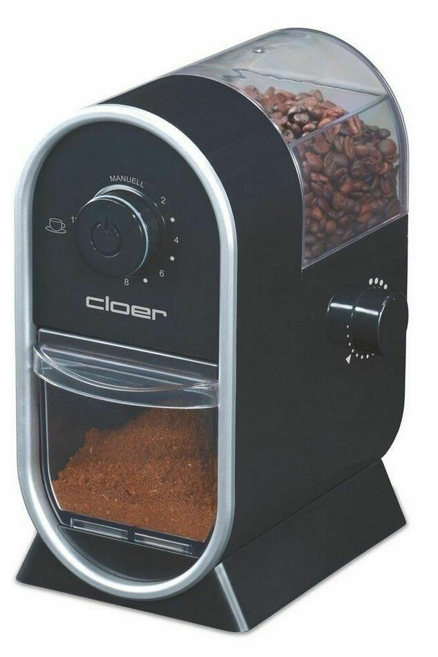 Billede af 7560 kaffemølle Sort 100 W