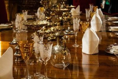 4 smukke Libbey glas til hjemmebaren