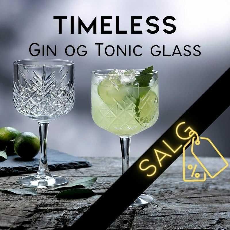 TIMELESS GIN & TONIC COCKTAILGLAS 50 CL