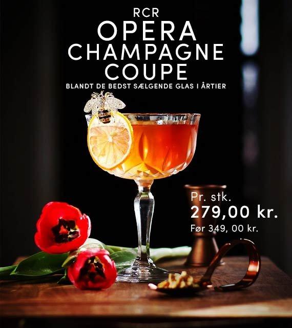 RCR champagneglas