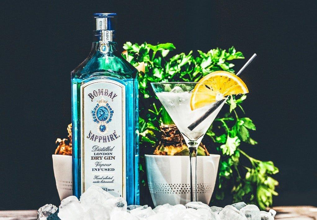 Klassisk drink med klassisk sugerør